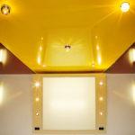 глянцевый натяжной потолок купить