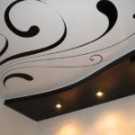 двухуровневые натяжные потолки купить