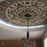 Тканевые натяжные потолки decor