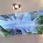 3д натяжные потолки